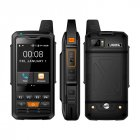 Alps F50 2G 3G 4G Zello Walkie Talkie Android Smartphone Quad Core Cellphones MTK6735 1GB 8GB ROM Signal Booster black