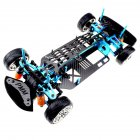 Aluminium Alloy & Carbon Shaft Drive 1/10 4Wd Touring Car Frame Kit for Tamiya Tt01 Tt01E Car default
