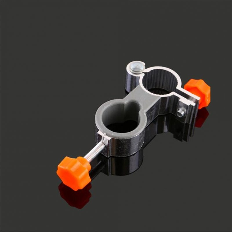 Aluminum Alloy Universal Fishing Chair Clip Aluminum Alloy Leisure Chair Umbrella Stand Clamp orange_25 tube fishing chair umbrella stand