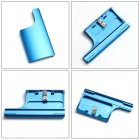 Aluminum Replacement Rear Snap Latch Waterproof Housing Buckle Lock for GoPro Hero 4 3  blue