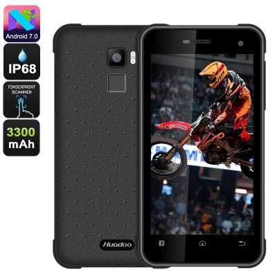 Huadoo HG11 Rugged Phone (Black)