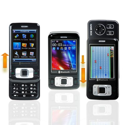 Dual Slider Cell Phone