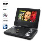 An amazing portable DVD player with 7 Inch LCD Widescreen  analog TV and disk copy function  It goes wherever you go so you ll be able to enjoy your favorite 16