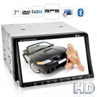 An awe inspiring Car DVD Player with 7 inch high definition touchscreen brilliance and multimedia wizardry like DVB T for front of the line in car entertainment