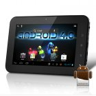 Android 4 0 Tablet with 7 Inch screen   Ghz processor and 512MB DDR3  combines the best OS with great design and powerful hardware