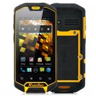 Android 4 0 solid  rugged mobile phone that is packed with features such as 1GHz dual core processor  walkie talkie capabilities  dual SIM  waterproof   and 3G