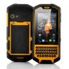 Android 4 0 solid  rugged mobile phone with a physical QWERTY keyboard features a 1GHz dual core processor  walkie talkie capabilities  waterproof and 3G