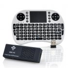 Android 4 2 Quad Core CPU TV Dongle comes with a Keyboard Game Pad Combo and also has Bluetooth version 4 0