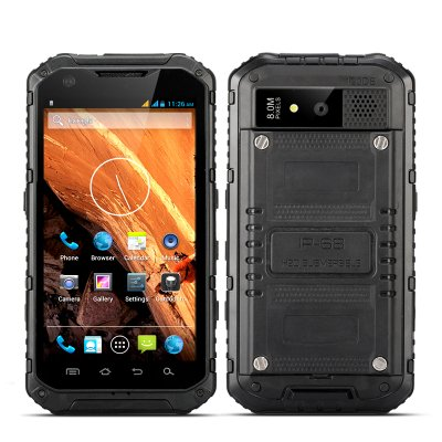 Android Quad Core Rugged Phone - Ox (Black)