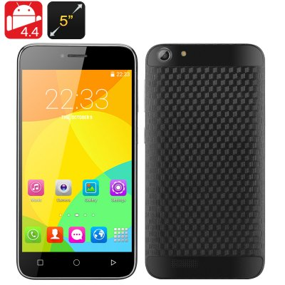 Dual SIM Android 4.4 Smartphone (Black)