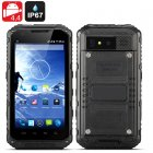 Android 4 4 Rugged Smartphone boasts a Quad Core CPU  an IP67 Waterproof and Dust Proof Rating as well as OTG support plus a 3000mAh Battery