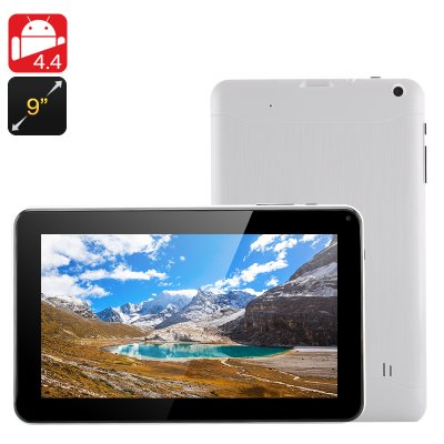 9 Inch Android 4.4 Tablet 'Iota' (White)