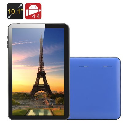 10.1 Inch Quad Core Tablet PC 'Kappa' (Blue)