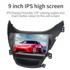 Android 9 0 1 Car Multimedia for Hyundai Elantra 2012 2014 Adjustable Angle Large Screen Navigation