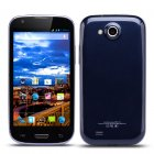 Android Smartphone features a 4 7 Inch QHD 480x854 Display  Dual Core CPU  5MP Rear Camera and two SIM Card Slots