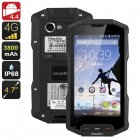 Android rugged phone with 4G connectivity  3800mAh battery  and Quad core CPU can handle anything you throw at it