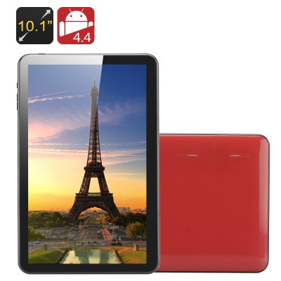 10.1 Inch Quad Core Tablet PC 'Kappa' (Red)