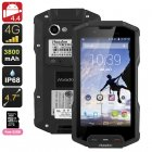 Huadoo HG04 Rugged Smartphone (Black)