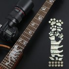 Animal Plant Pattern Guitar Fingerboard Fretboard Stickers Guitar Decals Decoration B (cat)