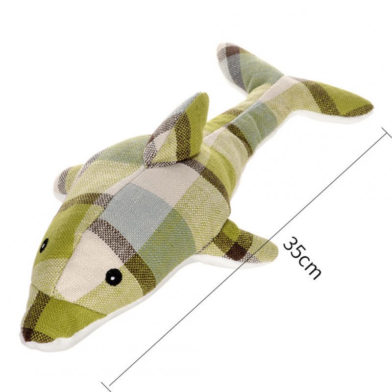 Animal Shape Bite Resistant Cloth Toy Pet Teething Interactive Toy for Dog Training