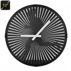 Animated Zoetrope Wall Clock features a unique moving design  It comes with an ultra quiet and accurate quartz movement system  Great for at home and office
