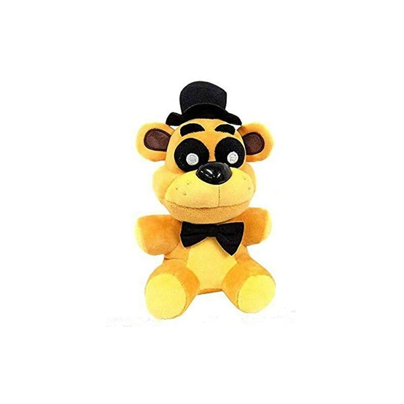 Anime Plush Golden FreddyGold Bear Doll Xmas Gift Toy Show One Size Yellow bear