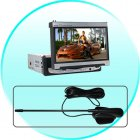 Antenna for CVEZJ 6078 7 Inch in dash TFT LCD Monitor  16 9  with DVD Player