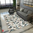 Anti Slip Soft Geometric Pattern Carpet Large Size Home Area Rugs for Living Room Kids Bedroom Floor Supplies V6N5