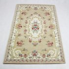 Anti-slip Muslim Prayer Mat Lightweight Thin Carpet Islam Eid Ramadan Gift Beige_120cm*80cm