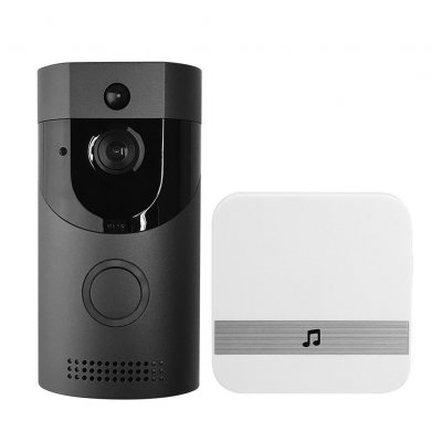 Anytek B30 Video Doorbell - UK Plug, Black