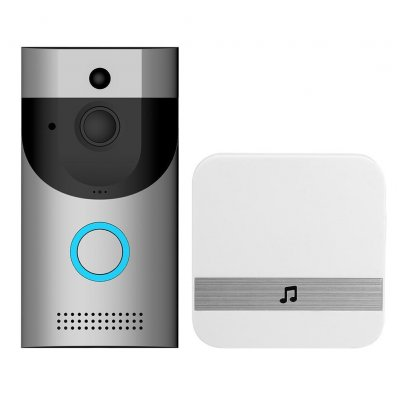 Anytek B30 Video Doorbell - EU Plug, Silver
