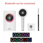 App Bluetooth Connection Lollipop Shape Twice Light Stick Glow Lamp for Concerts Album Fans Collection color