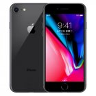 Original Apple iPhone 8 12MP+7MP Camera 4.7-Inch Screen Hexa-core IOS 3D Touch ID LTE Fingerprint Phone with Euro Plug Adapter Deep gray_64GB
