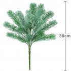 Artificial Pine Needle Grass  Pine Needle Branch Green Plant Water Grass Christmas Decoration Set Props green