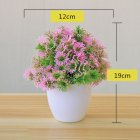 Artificial Plant Bonsai for Home Decorative Craft Dinning Table Ornament Pink