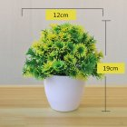 Artificial Plant Bonsai for Home Decorative Craft Dinning Table Ornament yellow