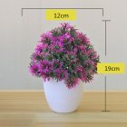 Artificial Plant Bonsai for Home Decorative Craft Dinning Table Ornament Lotus