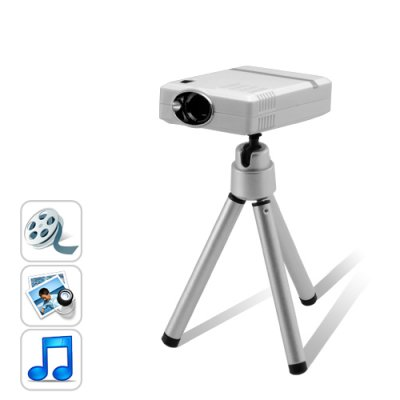 Mini Portable Multimedia Projector