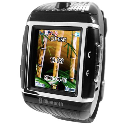 1GB Quad-Band Cell Phone Watch