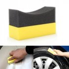 Auto Tire Wax Polishing Compound Sponge