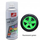 Auto Wheel Spray Film Car Tire Color Change Wheel Hub Paint Fluorescent green