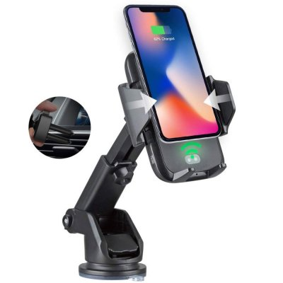 Automatic QI Wireless Charging Holder