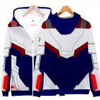 Avengers Endgame 4 Quantum Suit 3D Printing Hoodies Sweatshirt Cosplay Sweater Jacket Coat Q-3830-YH07_XXXL