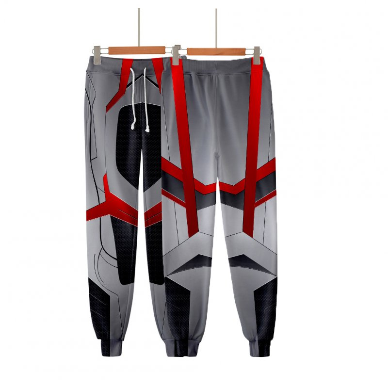 Avengers Endgame 4 Quantum Battle Suit 3D Printing Men Women Cosplay Pants Q-3880-YH15_XXL