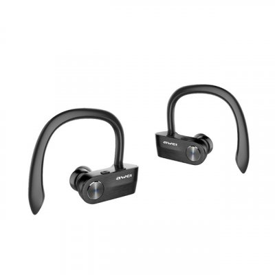 Awei T2 TWS Sports Ear Hook Headphones Black