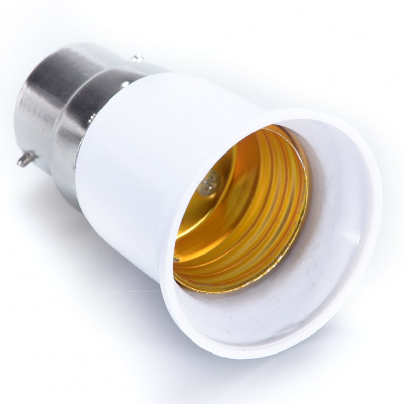 B22 to E27 Light Lamp Bulb Socket