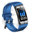 BM08 <span style='color:#F7840C'>Smart</span> Bracelet Sports Heart Rate Blood Pressure Sleeping Quality Monitoring Notification Push <span style='color:#F7840C'>Watch</span> blue