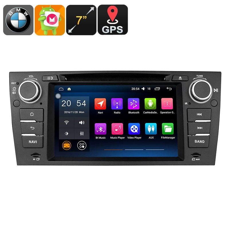 BMW 3 Series 1 Din Android Car Stereo