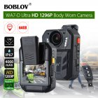 BOBLOV WA7 D HD 1296P 2 0  Body Worn Camera Recorder with Infrared Night Vision US plug