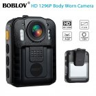 BOBOLOV WN9 1296P HD Camera Body Camcorder 170° Wide Angle IR Night Vision Standard + Kingston TF32GB